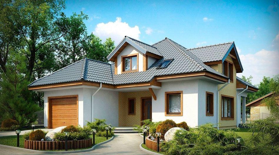 Строим дом с гаражом